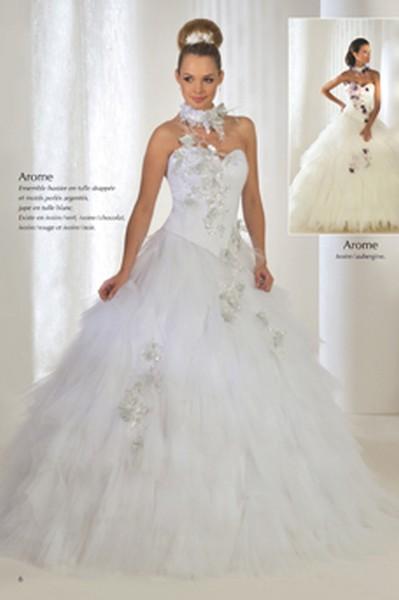 pour choisir une robe robe de mariee blanc et argent