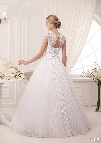 Robe de mariée vue de dos