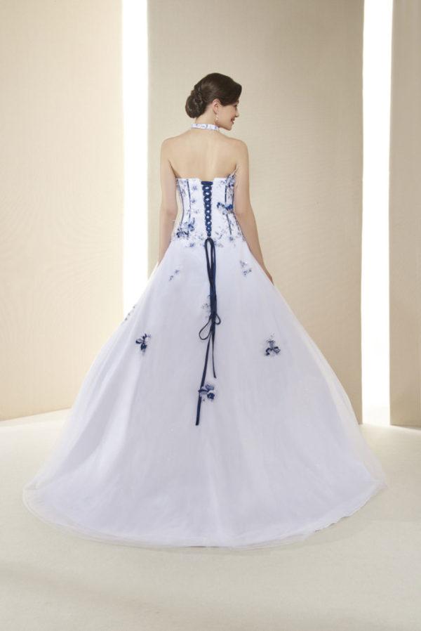MELOMANE, Robe de mariée, laçage dos