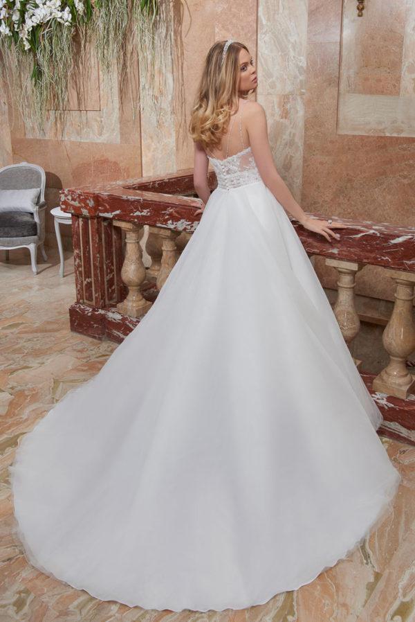 CANNELLE, robe de mariée, vue de dos