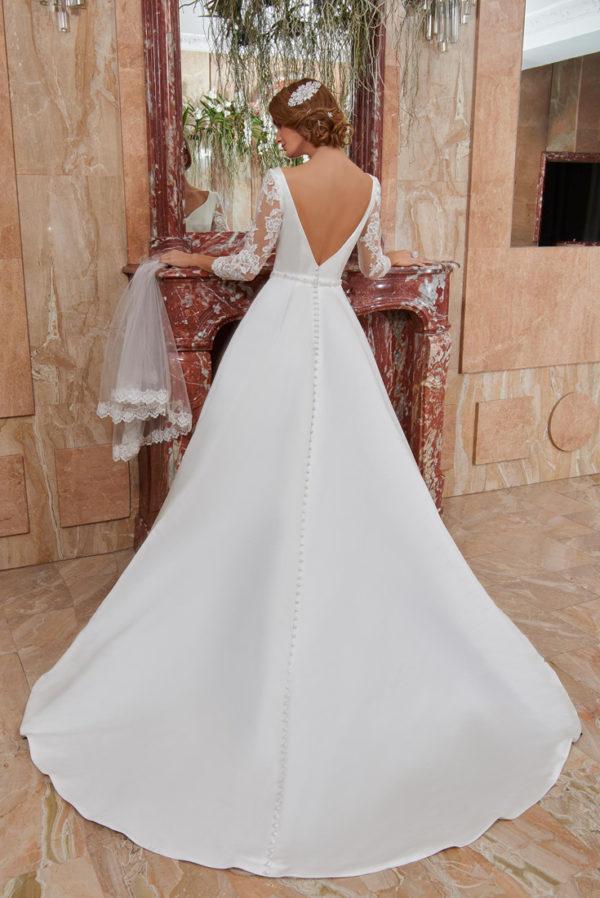 Robe de mariage CLARA - Robe élégante et chic,