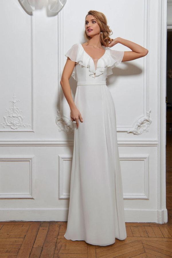 Robe de mariage CLAIRE - Costume 4 pièces, Cet ensemble comprend, BERLIN - Costume Complet, veste, pantalon, gilet et nœud papillon