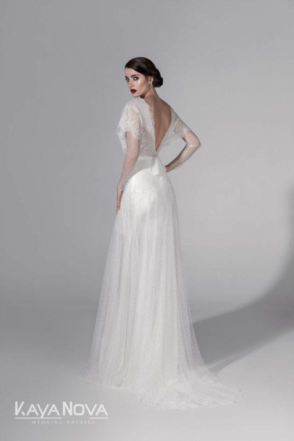 ERNESTA, Robe de mariée vue de dos