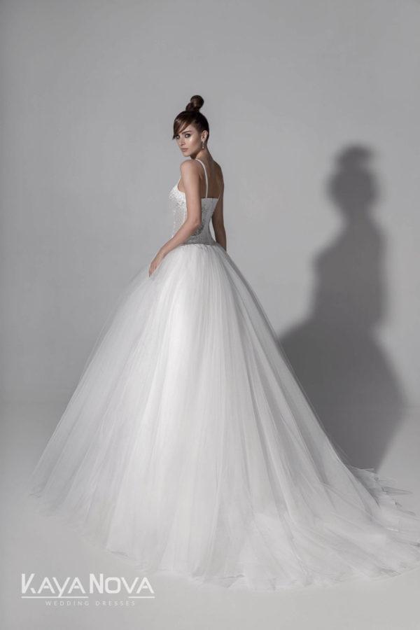 ESMERALDA, Robe de mariée vue de dos