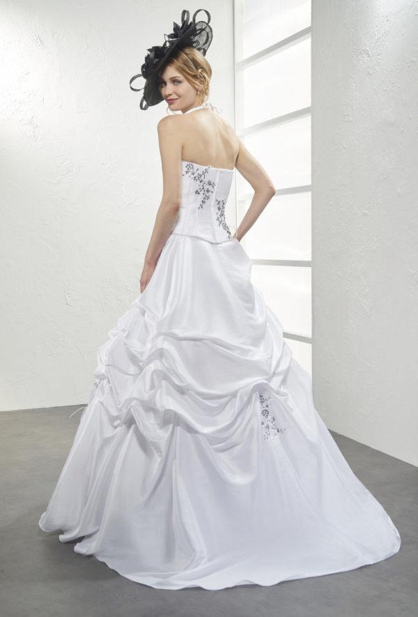 Robe de mariage LIMPIDE en taffetas,