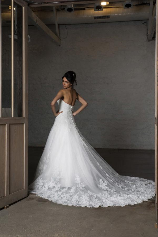 CALISTA, Robe de mariée vue de dos