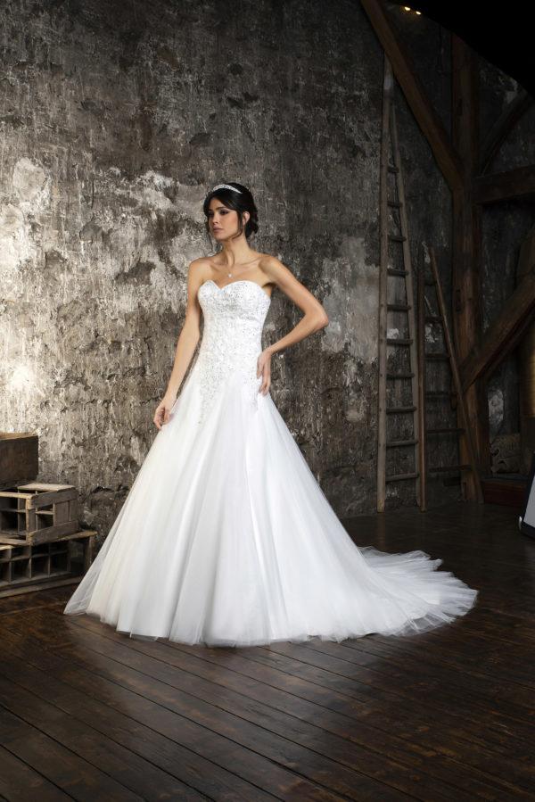 RAYA, Robe de mariée vue de dos